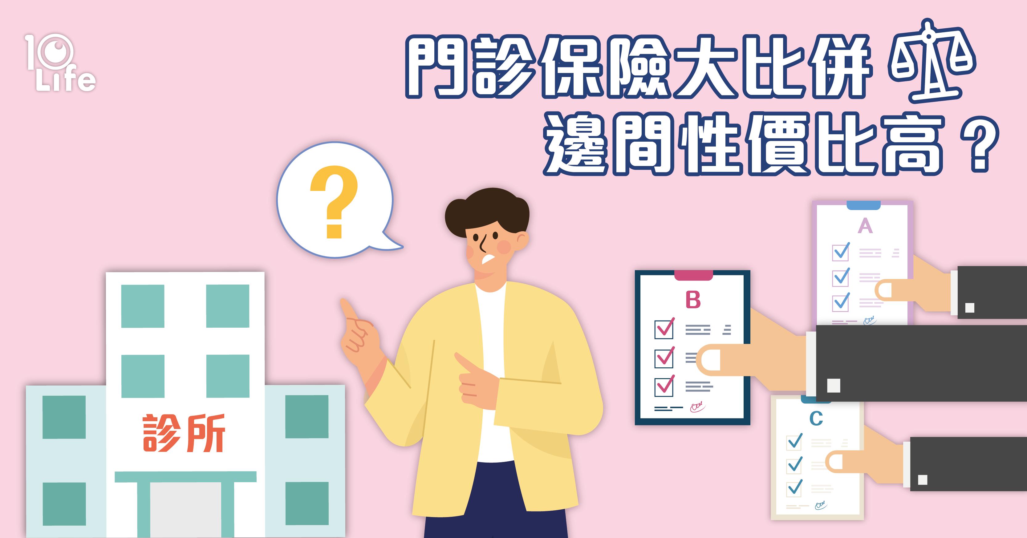 【門診保險比較】 保障、收費比較  點止睇專科、中醫咁簡單!| 10Life